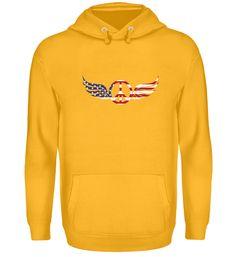 Peace Zeichen Amerika Flügel T-Shirt Hoodies, Sweatshirts, Sweaters, Fashion, Peace Signs, America, Moda, Fashion Styles, Sweater