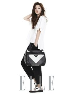 Jun Ji Hyun is simply chic for 'ELLE' -allkpop