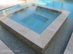 Glass Tile with Travertine
