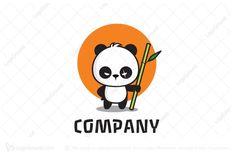 Logo for sale: Angry Panda Logo