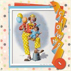 """Clowns - """"C""""-template by wondertalk.de"""
