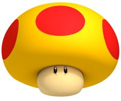 Mega Mushroom - Characters Art - New Super Mario Bros Mario Kart, Game Mario Bros, Mario Wii, Mario Video Game, Mario Y Luigi, Super Mario Brothers, New Video Games, Katamari Damacy, Super Mario 3d