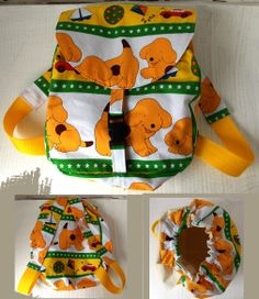 Tiddywinkle Textiles - Custom Toddler Back Pack Product