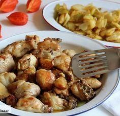 Receta tradicional de pollo al ajillo                                                                                                                                                                                 Más