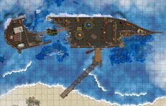 Free maps: RPG Map share | RPG Booster  Ship map