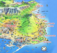 map of the west coast cape town - Google Search