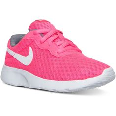 b684d693d92e Nike Little Girls  Tanjun Casual Sneakers from Finish Line ( 50) ❤ liked on