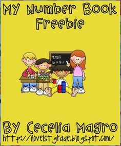 FREE MATH LESSON - �My Number Book Freebie� - Go to The Best of Teacher Entrepreneurs for this and hundreds of free lessons.