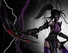 """Check out new work on my @Behance portfolio: """"Akali from League of Legends"""" http://be.net/gallery/41639971/Akali-from-League-of-Legends"""