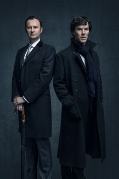 NEW #Sherlock S4 promo images to start the day! The boys!