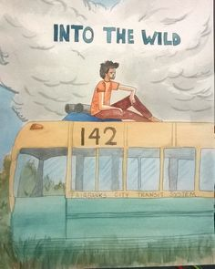 #watercolor #intothewild #movie #drawing