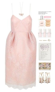 """""""*1742"""" by cutekawaiiandgoodlooking ❤ liked on Polyvore featuring The 2nd Skin Co., Dolce&Gabbana, Valentino, Alex Monroe, Christian Dior, philosophy and Mikimoto"""