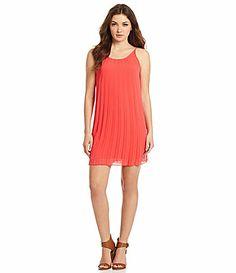 BCBGeneration KnifePleat Dress #Dillards