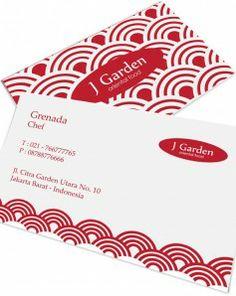 Cetak Kartunama - Kartu nama untuk kategori makanan #businesscard #namecard #kartunama #food