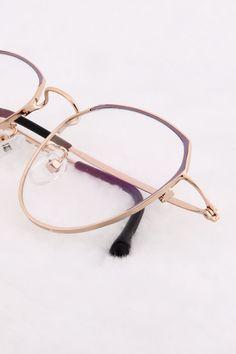 Purple and Gold Glasses Frames Trendy, Prescription Glasses Frames, Sarah Palin, Fashion Eye Glasses, Mens Glasses, Sarcasm, Random Things, Eyeglasses, Art Nouveau