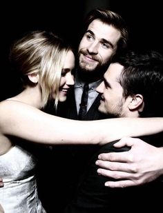 I'm okay. Really. I'm fine. No tears here. Seeing that the movies are almost done doesn't make me wanna cry at all. But who knows maybe Josh will work with Jen again and maybe Liam but I mostly want Josh.