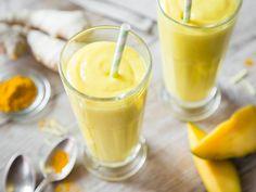Mango-Smoothie mit Kurkuma