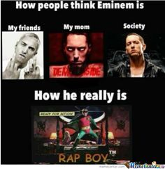 I truly love Eminem because he's just a dork that you would wanna hang out with Eminem Funny, Eminem Memes, Eminem Rap, Eminem Lyrics, Eminem Wallpapers, Eminem Photos, The Real Slim Shady, Eminem Slim Shady, Rap God