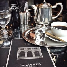 The Wolseley.  London. Breakfast meeting perfection @Alex Jones Jones Noble