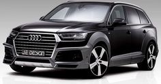 Je-Design Already Thinks The Audi SQ7 Needs A Sportier Look #Audi #Audi_SQ7
