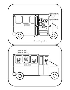 Pete The Cat Wheels On Bus Coloring Page