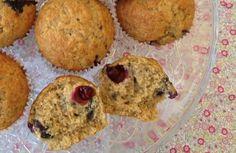 Buen finde - Blueberry banana muffins