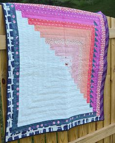 Here is my full #colorblockquilt from @owensolivia new book #quiltingfromeveryangle!  So excited to share this quilt, it was so fun to make! Now I'm on a quilting hiatus for a bit, my wrist has been really hurting me causing numbness in my fingers.  I'm super bummed since I have so many things I'm excited to make progress on. Oh well.