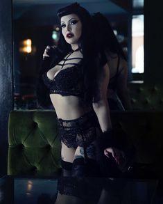 Gothic Baby, Gothic Girls, Goth Beauty, Dark Beauty, Gothic Lingerie, Sexy Lingerie, Gothic Outfits, Sexy Outfits, Punk Fashion