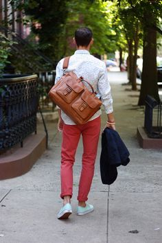 Estate Varsity Work Bag via A Gentleman's Row blog! - Fall 2011