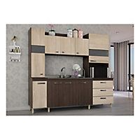 Compra Online en Easy.cl: Mueble cocina 220x53x200 cm Lais palermo ...
