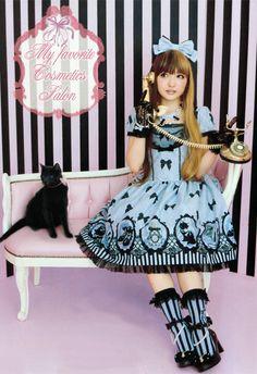 japanese fashion | Tumblr♥ ロリータ, sweet lolita, fairy kei, decora, lolita, loli, gothic lolita, pastel goth, kawaii, fashion, victorian, rococo, wa-lolita♥