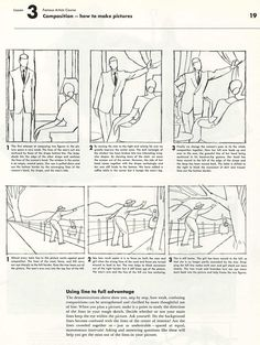 Lesson 3: Composition - how to make pictures from Famous Artists Course by Institute of Commercial Art, Inc.