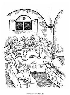 Ausmalbild Ostern Jesus