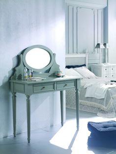 Mueble Tocador Vintage Rosellón - Muebles De Dormitorio Vintage - Muebles Vintage