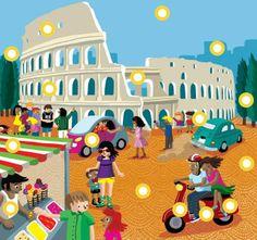 Interactieve praatplaat Italië by Paula Prevoo