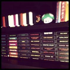 #Atari 2600 games. Those were the days of #Retro #Gaming