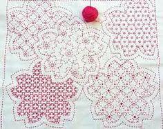 Image result for sashiko placemat