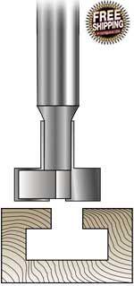 MLCS t-slot cutter router bits