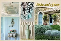 love aqua blue for door, etc.. . .