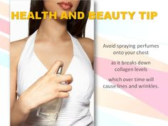 HEALTH AND BEAUTY TIP