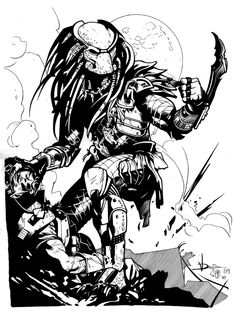 The Predator by Muady.deviantart.com on @DeviantArt