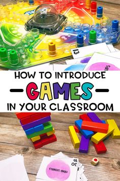 Playing games in the classroom doesn't have to result in chaos. Try some of these tips to help set expectations as you get started with games in your classroom. Educational games are a great way to review concepts. They are also great enrichment activities. You can play math games, literacy games, or vocabulary games and more. The most important thing is to set up some procedures and routines with in your classroom when it comes to playing games. You can play digital games or use game… Play Math Games, Free Math Games, Math Card Games, Literacy Games, Enrichment Activities, Vocabulary Games, Classroom Incentives, Classroom Management Strategies, Classroom Fun