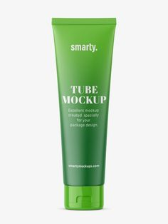 Cosmetic tube, usually used in cosmetics industry as packaging for body or hand care lotions. Cosmetics Industry, In Cosmetics, Label Design, Packaging Design, Hand Care, Bottle Mockup, Shower Gel, Plastic Bottles, Body Care
