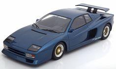Hersteller:  GT Spirit  Maßstab:  1:18  Marke:  Ferrari  Typenbezeichnung:  Koenig Testarossa  Bi-Turbo  Farbe:  blaumetallic  Limited Edition 504 pcs.  Material:  Metall  keine zu öffnenden Teile  exklusiv für Modelissimo und ck-modelcars