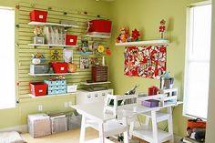 Ideas para organizar el taller en casa - Decoracion