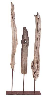sculpture bois flotté