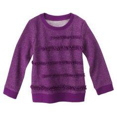 Genuine Kids from OshKosh ™ Infant Toddler Girls' Long-sleeve Tee - Soho Grape