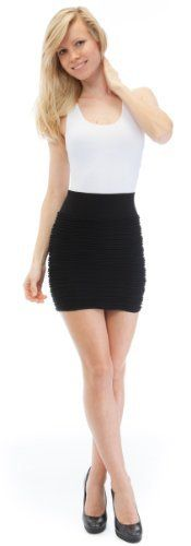 Curve Appeal Seamless Poly Spandex Ruched Tube Mini Skirt Curve Appeal. $9.99