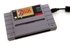 Super NES Hard Drive - The Legend of Zelda  A Link to the Past - 1TB USB 3.0. $149.99, via Etsy.