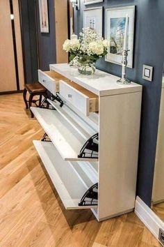 23 amazing cabinet designs for cozy living room 7 Room Interior, Interior Design Living Room, Living Room Designs, Easy Home Decor, Home Decor Styles, Living Room Cabinets, Kitchen Living, Rack Design, Home Room Design